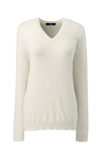 Women's Cashmere V-neck Jumper