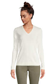 Women's Tall Cashmere V-neck Sweater