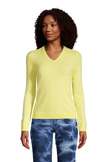 Women's Cashmere V-neck Jumper