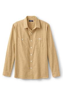 Men's Chambray Work Shirt