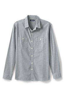 Chambray-Workerhemd für Herren, Classic Fit
