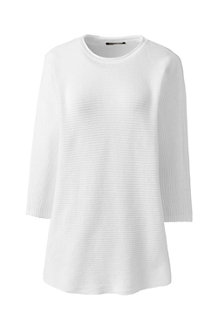 Pullover im Leinen-Baumwollmix für Damen