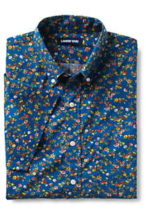 Men's Tall Traditional Fit Short Sleeve Essential Lightweight Poplin, alternative image