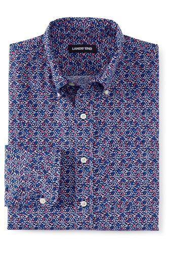 Men's Tall Tailored Fit Essential Lightweight Poplin Shirt