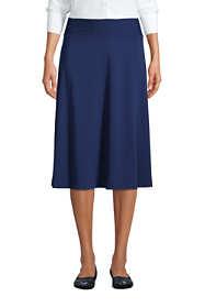 Women's Petite Knit Midi Skirt