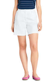 "Women's Mid Rise 7"" Curvy Chino Shorts"