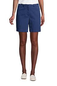 "Women's Mid Rise 7"" Curvy Chino Shorts"