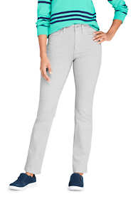 Women's High Rise Compression Straight Leg Colorful Jeans