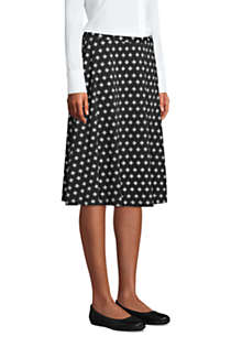 Women's Print Knit Midi Skirt, alternative image