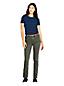 Jean Droit Stretch Taille Mi-Haute EcoVero, Femme Stature Standard