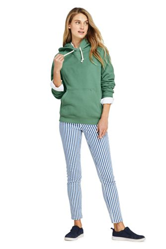 Women's Tall High Rise Slim Straight Ankle Stripe Jeans