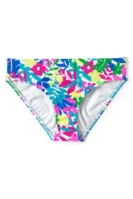 Little Girls Print Bikini Bottoms