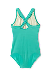 Girls Plus Racerback One Piece Swimsuit, Back
