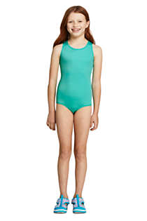 Girls Plus Racerback One Piece Swimsuit, alternative image