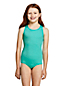 Girls' Essential Cross-back Swimsuit