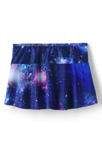 Girls Mix and Match Swim Mini Skirt