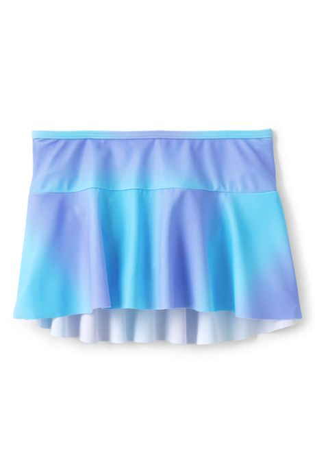 Girls Slim Mix and Match Swim Mini Skirt