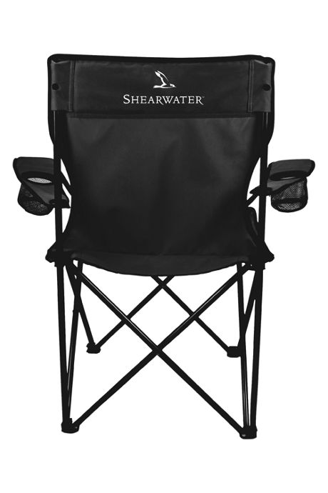 Folding Captains Chair With Carrying Bag