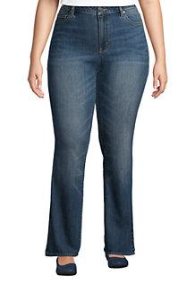 Bootcut Öko-Jeans Mid Waist