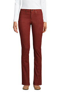 Women's Mid Rise Water Conserve Eco Friendly Straight Leg Jeans