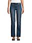 Bootcut Öko-Jeans Mid Waist für Damen in Plus-Größe