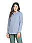 Women's Roll Sleeve Pure Cotton Boyfriend Shirt