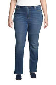 Straight Fit Öko Jeans Mid Waist