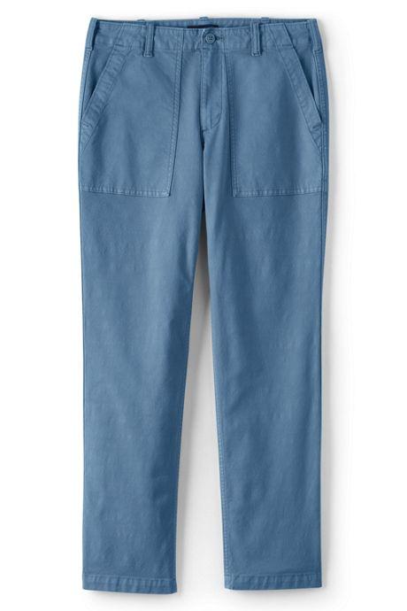 Women's Plus Size Mid Rise Canvas Field Pants