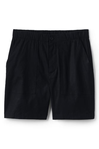 Women's Plus Stretch Linen Blend Utility Shorts