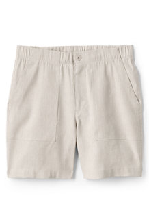 Women's Stretch Linen Blend Utility Shorts