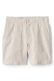 Women's High Rise Linen Shorts