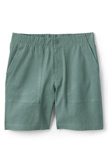 Shorts im Leinenmix mit Stretch für Damen