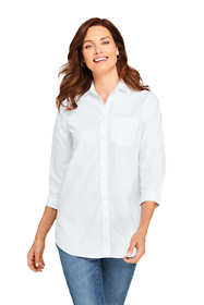 Women's Tall No Iron 3/4 Sleeve Tunic Top