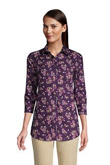 Women's Three-Quarter Sleeve Supima® Non-Iron Tunic