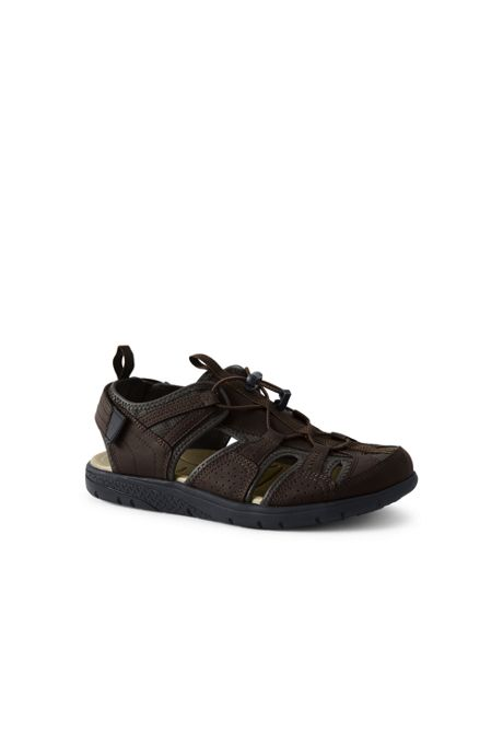 Men's Wide Closed Toe Water Sandals