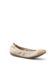 Women's Comfort Elastic Captoe Ballet Flats