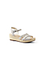 Women's Canvas Espadrille Wedge Sandals