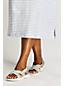 Leichte Komfort-Sandalen aus Canvas für Damen