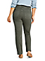 Women's Plus EcoVero Slimming Jeans, High Waisted Straight Leg, Colours