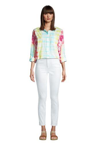 Women's Tie Dye Boyfriend Fit Cotton Tunic Top