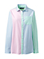 Women's Petite Peter Pan Collar Boyfriend Shirt