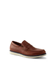 School Uniform Men's Comfort Casual Leather Penny Loafers