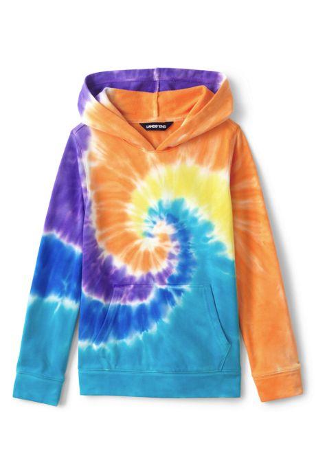 Little Kids Tie Dye Pullover Hoodie