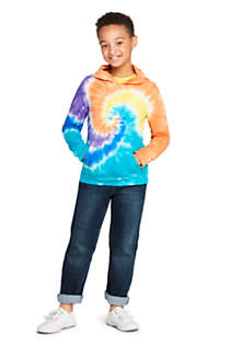 Little Kids Tie Dye Pullover Hoodie, Unknown