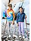 Kapuzen-Sweatshirt mit Batik-Print für große Kinder