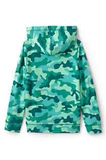 Little Kids Pattern Pullover Hoodie, Back