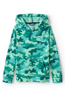 Kapuzen-Sweatshirt Camouflage für  Kinder