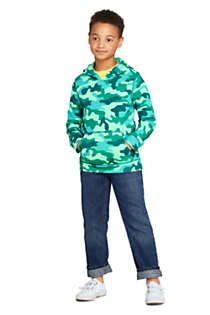 Little Kids Pattern Pullover Hoodie, alternative image