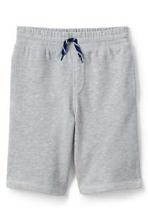 School Uniform Little Boys French Terry Shorts, Front