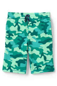Boys Husky French Terry Pattern Shorts